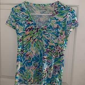Lilly Pulitzer XS vneck Top